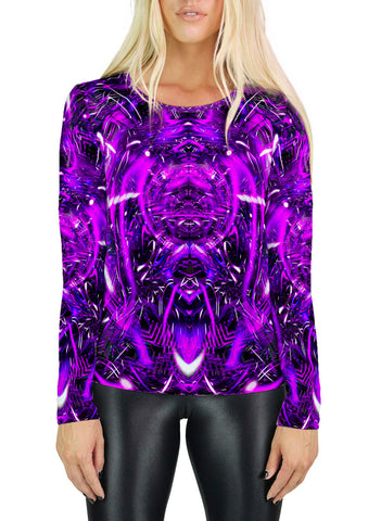 Purple Portal Womens Long Sleeve