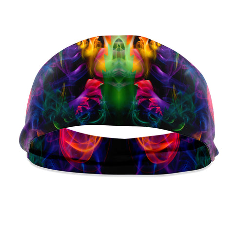Rainbow Smoke Headband