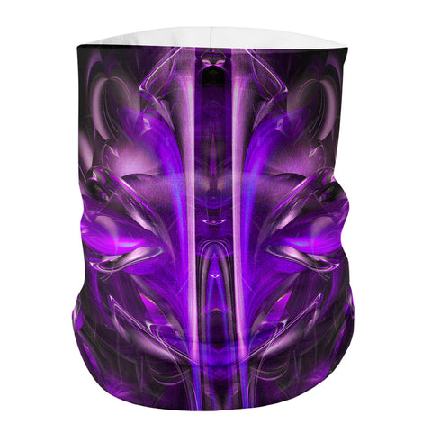 Purple Alien Face Shield