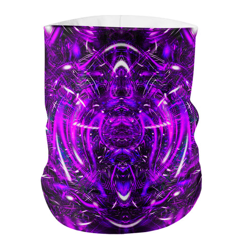 Purple Portal Face Shield