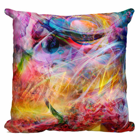 Psychedelic Circus Pillow