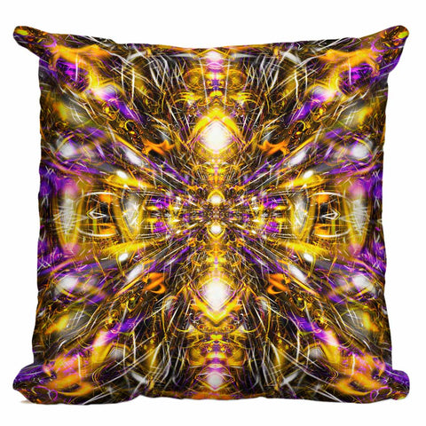 Diamonds And Thunderbolts Pillow