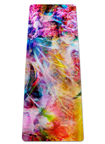 Psychedelic Circus Yoga Mat