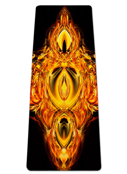 Golden Amulet Yoga Mat