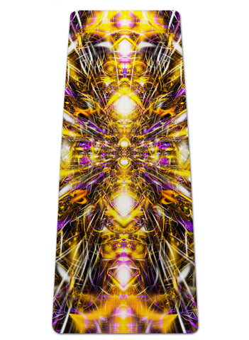 Diamonds And Thunderbolts Yoga Mat