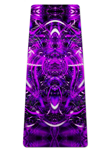 Purple Portal Yoga Mat