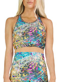 Time Melts Away Racerback Crop