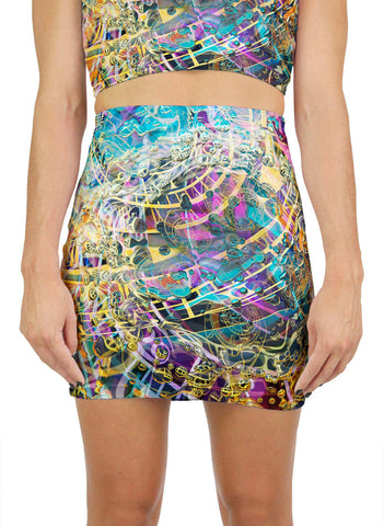 Time Melts Away Mini Skirt