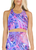 COSMIC LOVE RACERBACK CROP