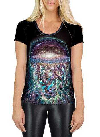 Galactic Jelly Scoop Neck T-Shirt