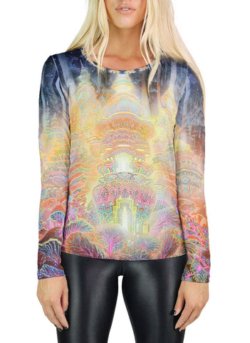 Urban Fungus Womens Long Sleeve