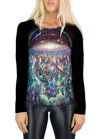 Galactic Jelly Womens Long Sleeve