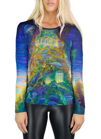 Mycelium Mesa Womens Long Sleeve