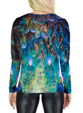 Theory Of Droplet Dimensions Womens Long Sleeve