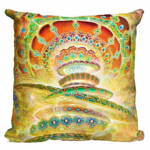 Disillusions Compass Pillow