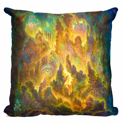 Misty Mountains Pillow