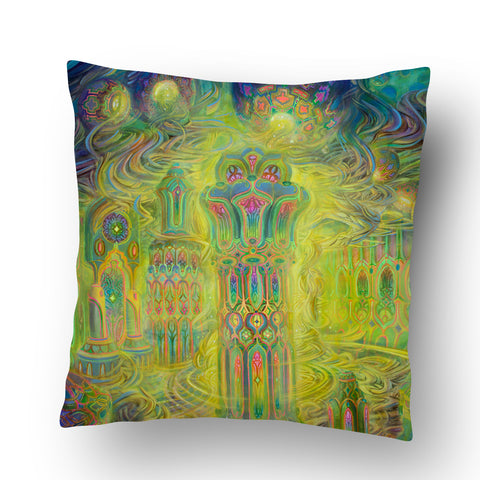 Halls of Creation Pillow