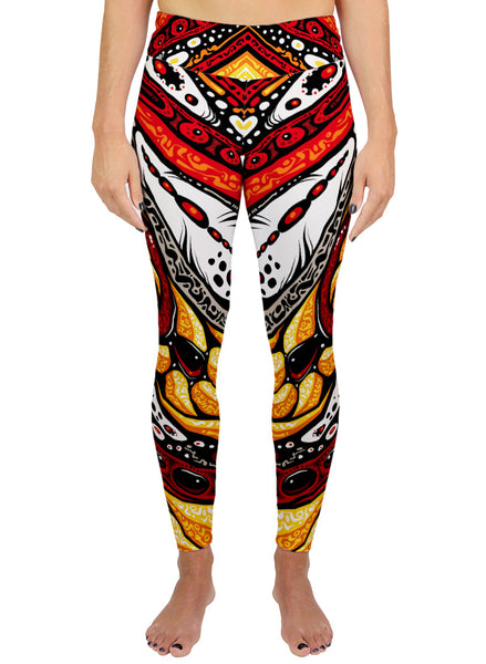 Serpent Mother Active Leggings