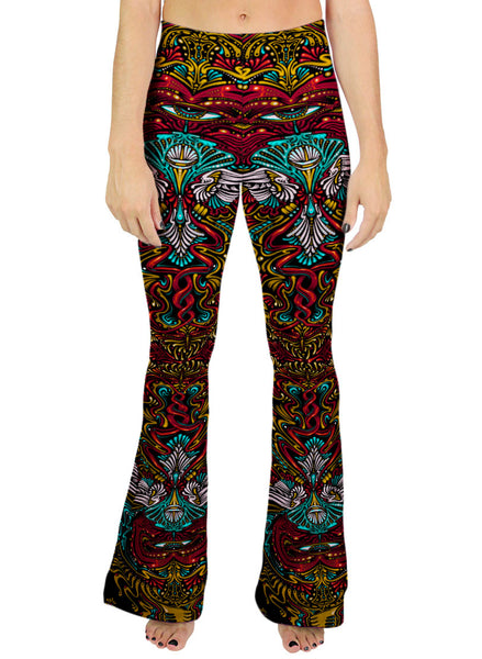 Peace Mandala Bell Leggings