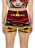 Serpent Mother Active Shorts