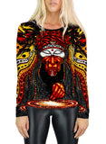 Shaman Womens Long Sleeve