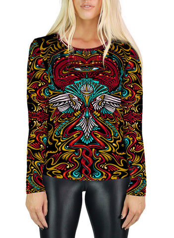 Peace Womens Long Sleeve