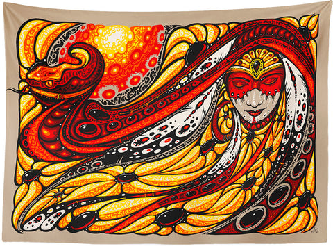 Serpent Mother Tapestry