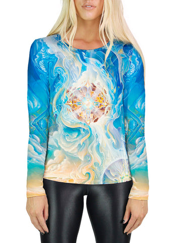 Birth Of A Star Womens Long Sleeve
