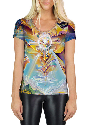 Apotheosis Of Hope Scoop Neck T-Shirt