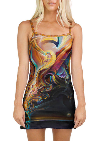Rapid I Movement MINI DRESS