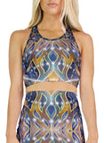Pyramid Eclipse Racerback Crop