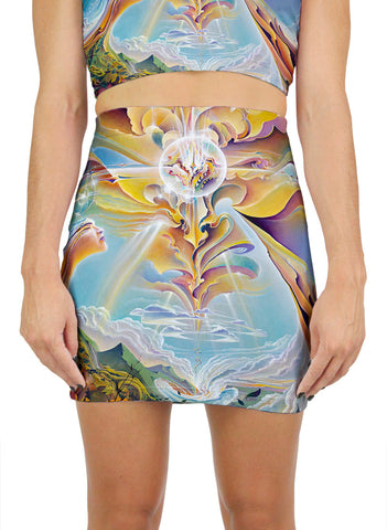 Apotheosis Of Hope Mini Skirt