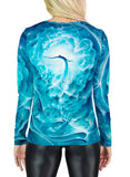 Birth Of Venus Womens Long Sleeve