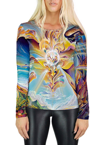 Apotheosis Of Hope Womens Long Sleeve