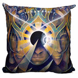 Pyramid Eclipse Pillow