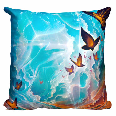Lightning On A Summer Cloud Pillow