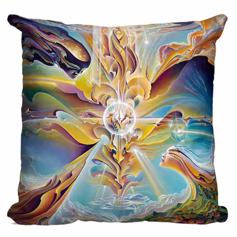 Apotheosis Of Hope Pillow