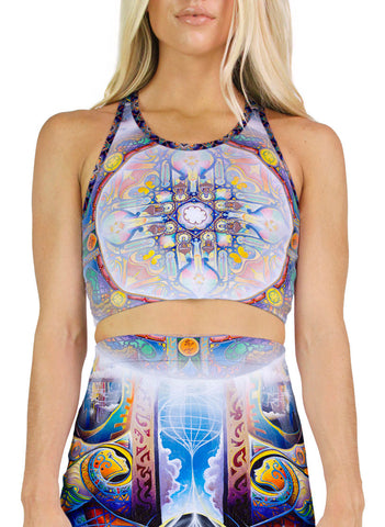 Illumination Racerback Crop
