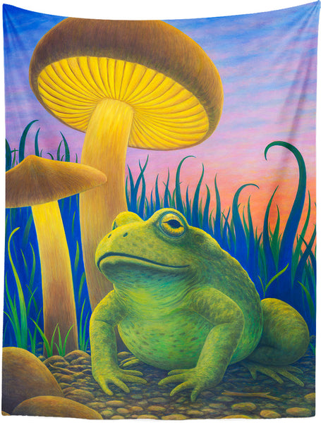 Magic Toad Tapestry