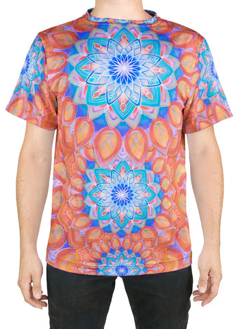 Union Mandala Orange T-Shirt