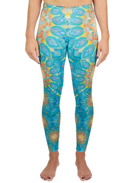 Union Mandala Active Leggings