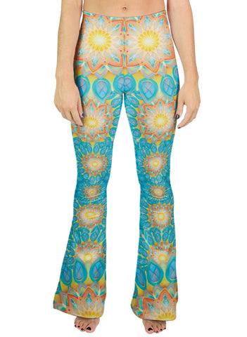 Union Mandala Bell Leggings