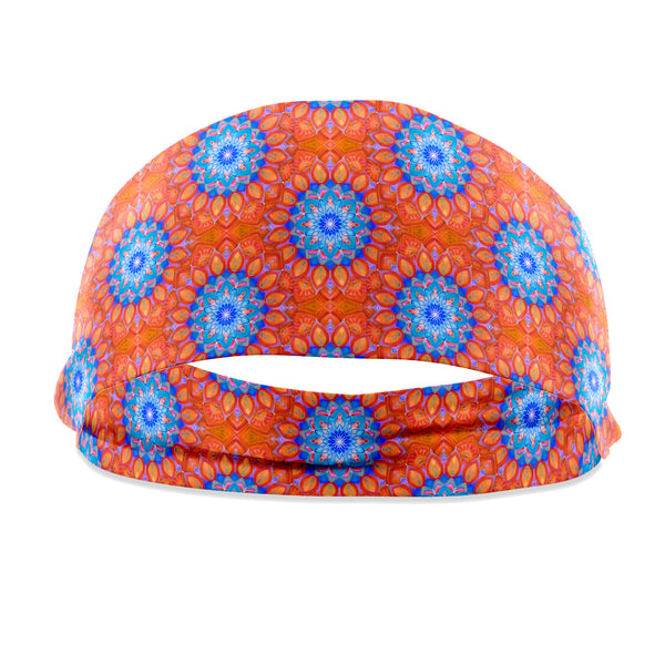 Union Mandala Orange Headband