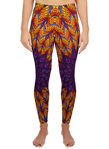 Phoenix Vortex Active Leggings