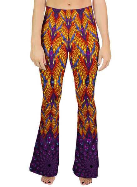 Phoenix Vortex Bell Leggings