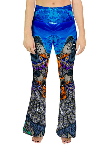 WOLF SONG Bell Leggings