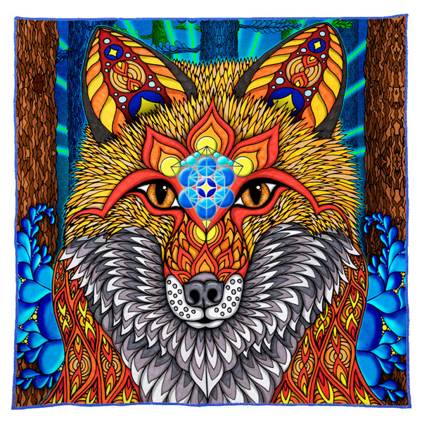The Electric Fox Bandana