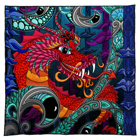 The Red Dragon Bandana
