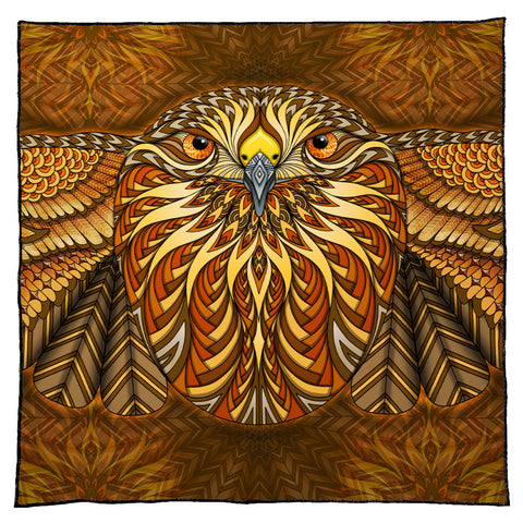 Red-Tailed Hawk Bandana
