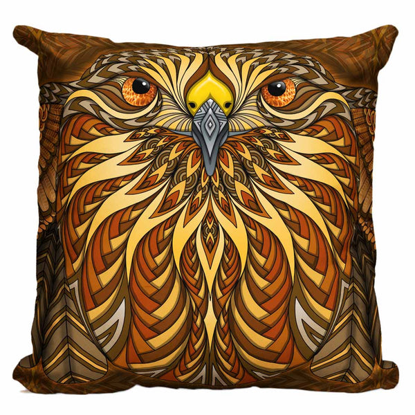 Red-Tailed Hawk Pillow
